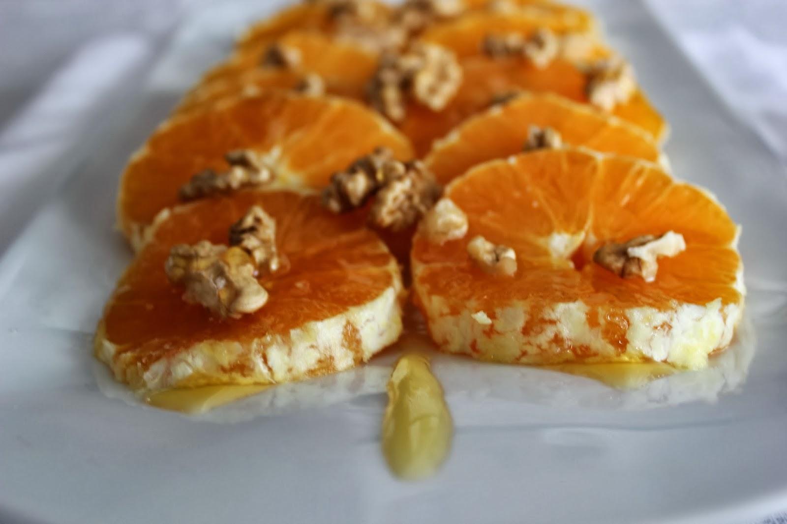 Cocinar Con Miel   Cocinando Con Las Chachas Naranjas Con Miel Y Nueces