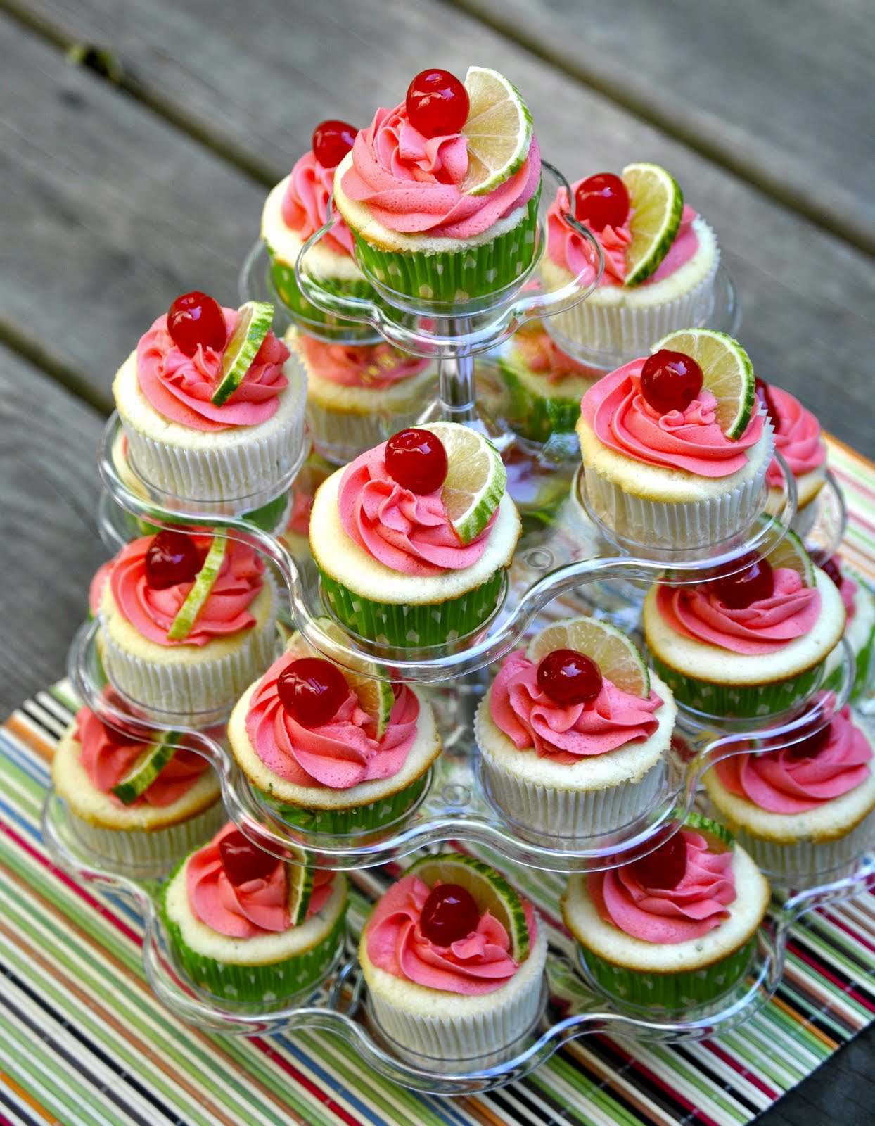 The Culinary Enthusiast: Cherry Limeade Cupcakes