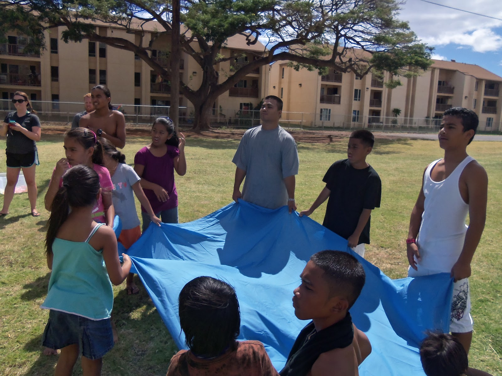Hawaiian Backyard Fights : Work in Progress Location Oahu, Hawaii Luau and Water Fight