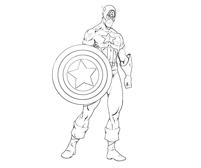 printable coloring pages capitain america - photo#24