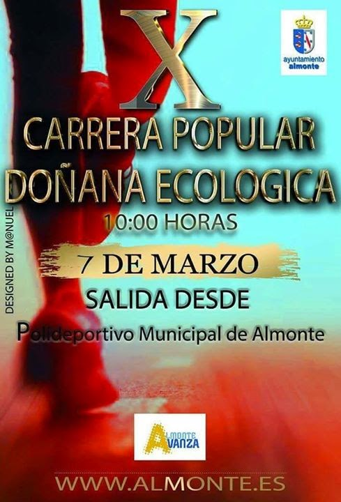 CARRERA POPULAR DOÑANA ECOLOGICA