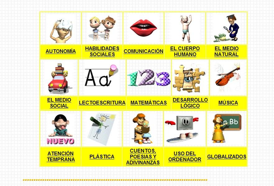 SOFTWARE POR ÁREAS PARA EDUCACIÓN ESPECIAL