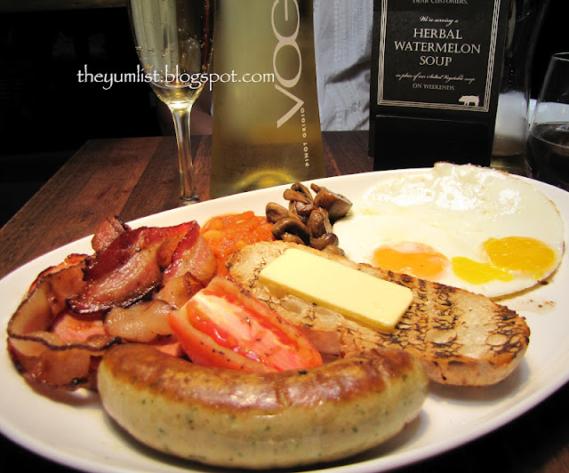 B.I.G, S.Wine, Publika, non-halal, Solar Dutamas, breakfast, brunch, bubbly brunch, pork, bacon, French toast, waffles, Kuala Lumpur