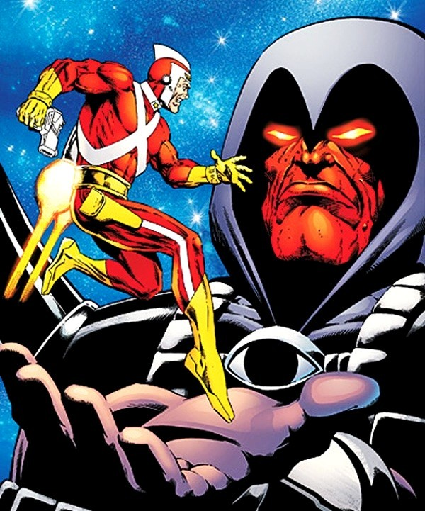 Adam Strange cartoon picture 2