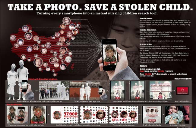 take a photo save a stolen child,