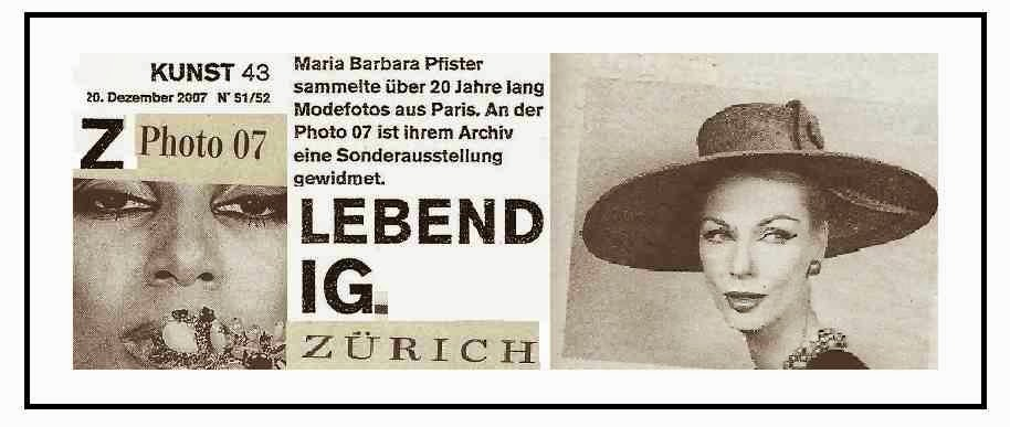 archive maria barbara musée gailliera PARIS zurich photo 07 zurich exposition mischa vetere COUTURE