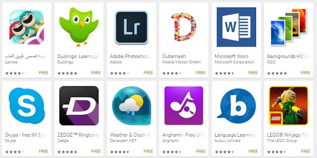 أفضل تطبيقات الأندرويد لعام Best Apps of 2015