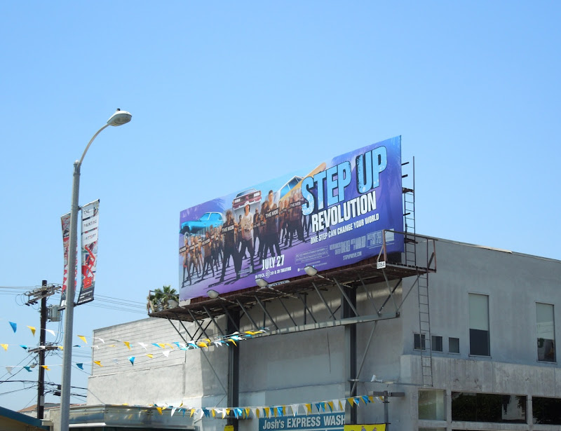 Step Up Revolution billboard