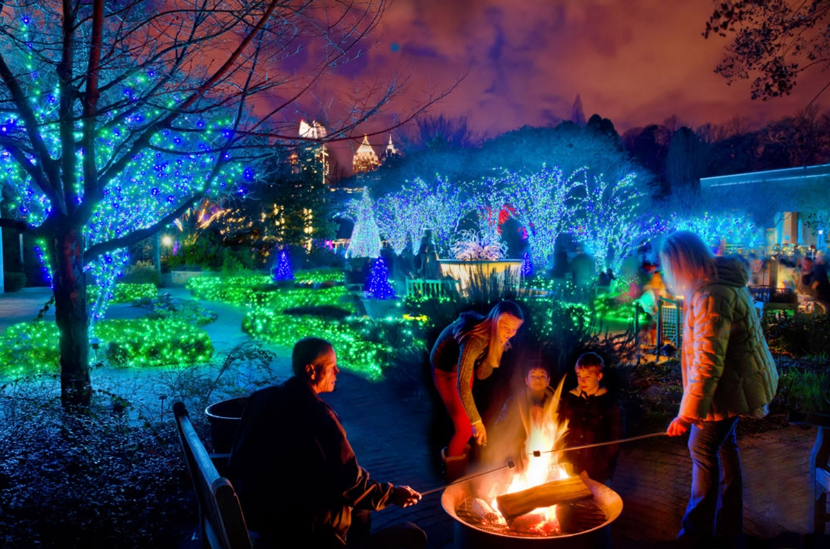 "Atlanta Botanical Garden Shines ""Green"" this Winter with New ..."