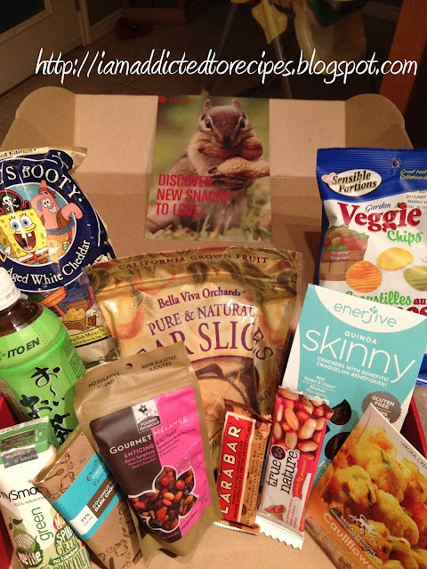 Snackbox Giveaway from Addicted to Recipes