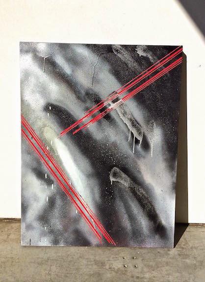 EMIL MEMON, HYPERABSTRACTION BLACK & SILVER, 2013