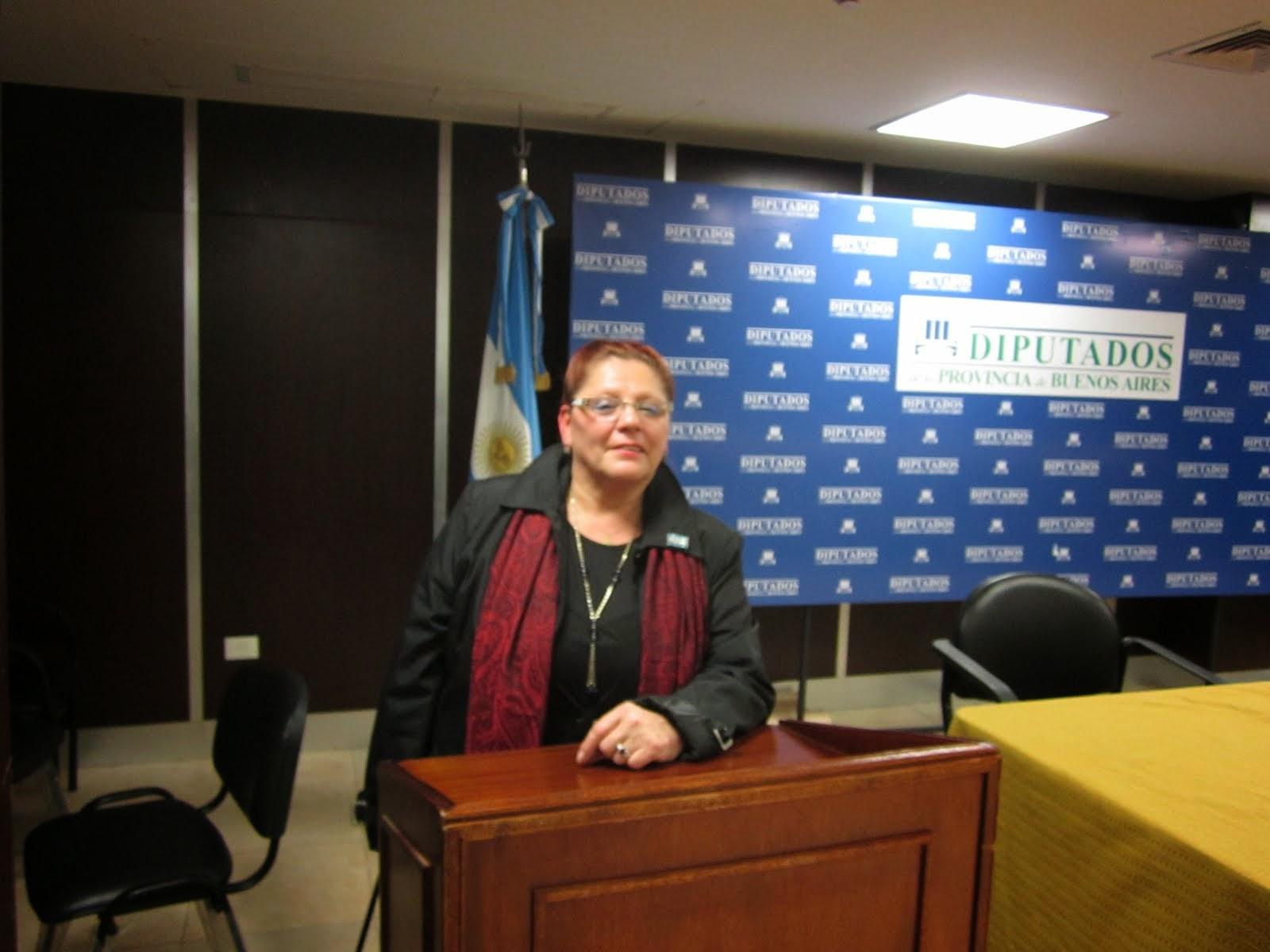Mirta Praino-Honorable Camara de Diputados de la Provincia de Buenos Aires