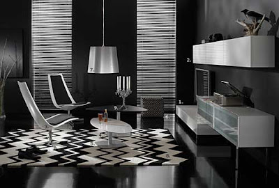 Modern Interior Decorators Black and White 2011