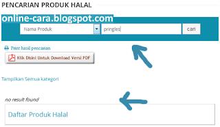 Cek Nomor Sertifikat halal MUI