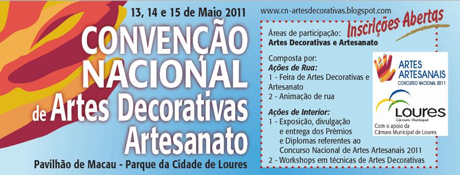 Convencao Nacional Artes Decorativas e Artesanais