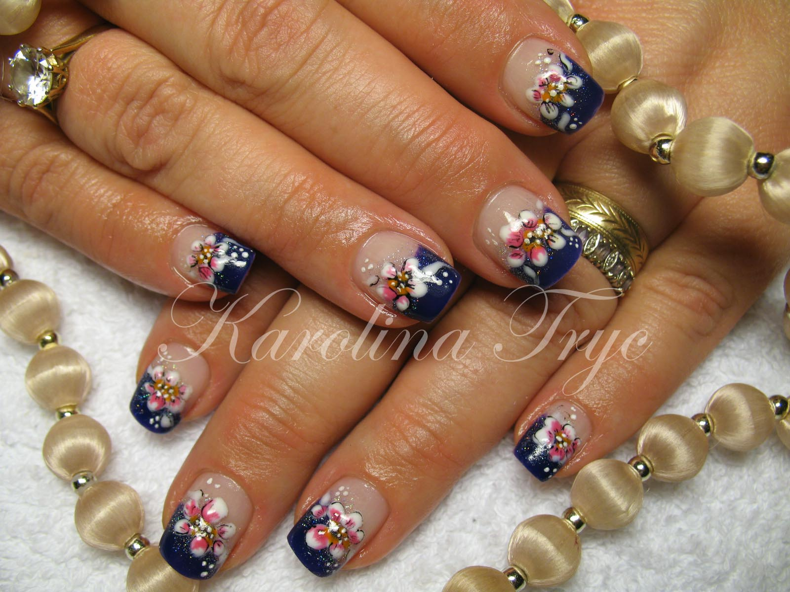 natural nail art designs gallery