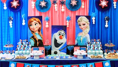 Gambar Dekorasi Ulang Tahun Anak Tema Frozen