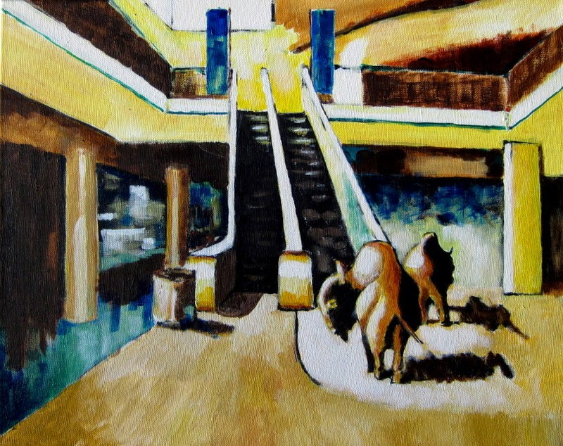 contemporary painting interior buffalo by bruce docker