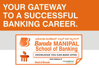 Admission to Baroda Manipal School of Banking for 2012-2013