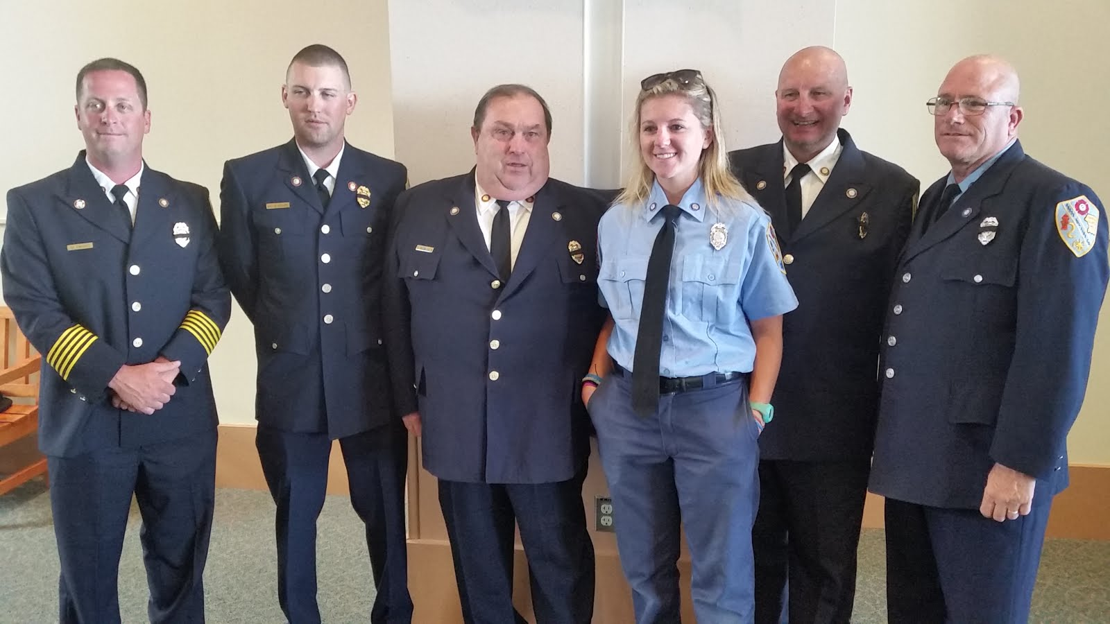 members of the reese vol fire co