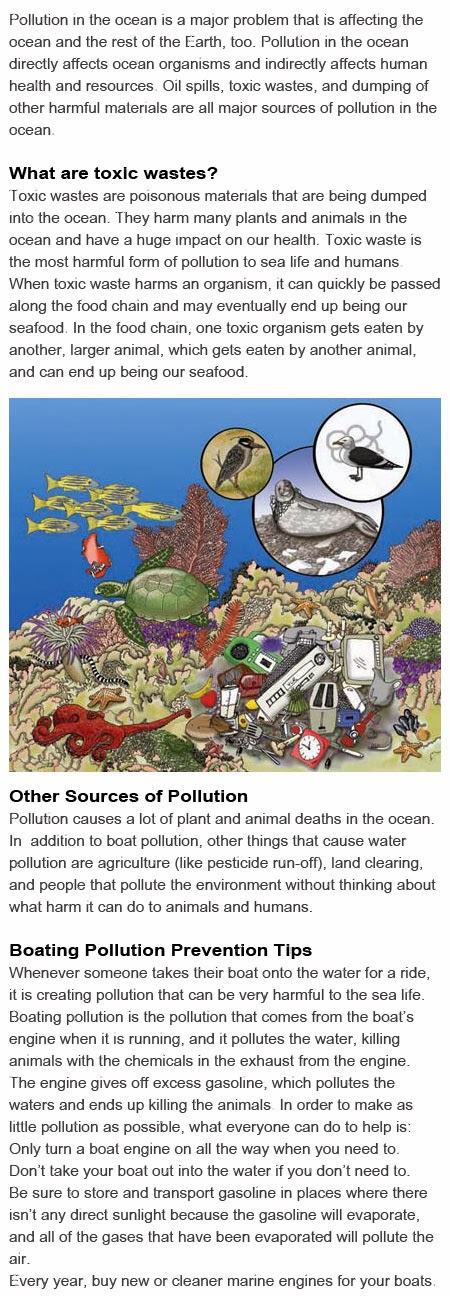 Ocean pollution for kids
