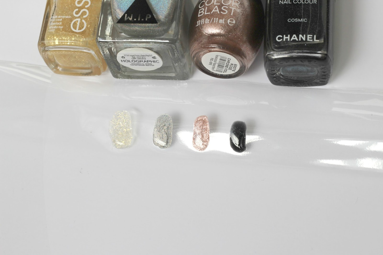 Essie, Urban Outfitters, Orly, Chanel