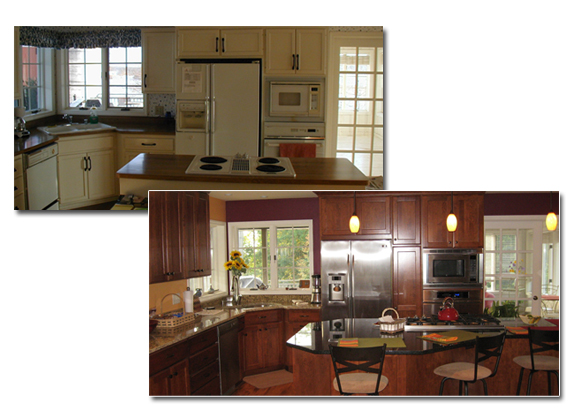 Before And After Kitchen Remodel Pictures