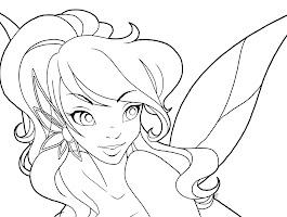 Fairy Tale Anime Coloring Pages