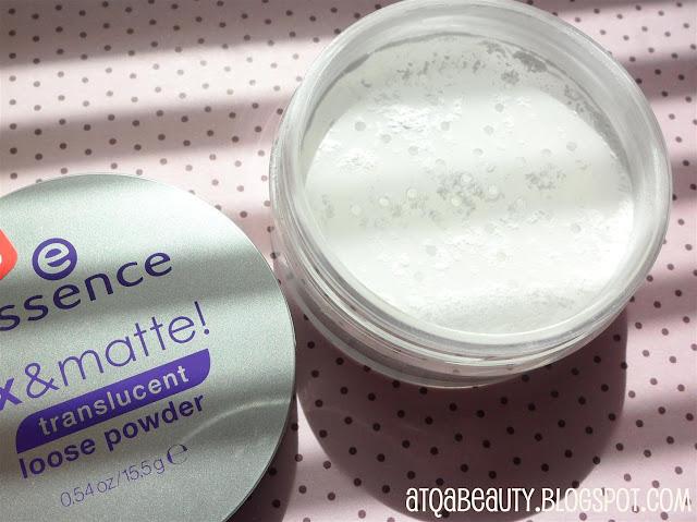 Essence, Fix & Matte Translucent Loose Powder