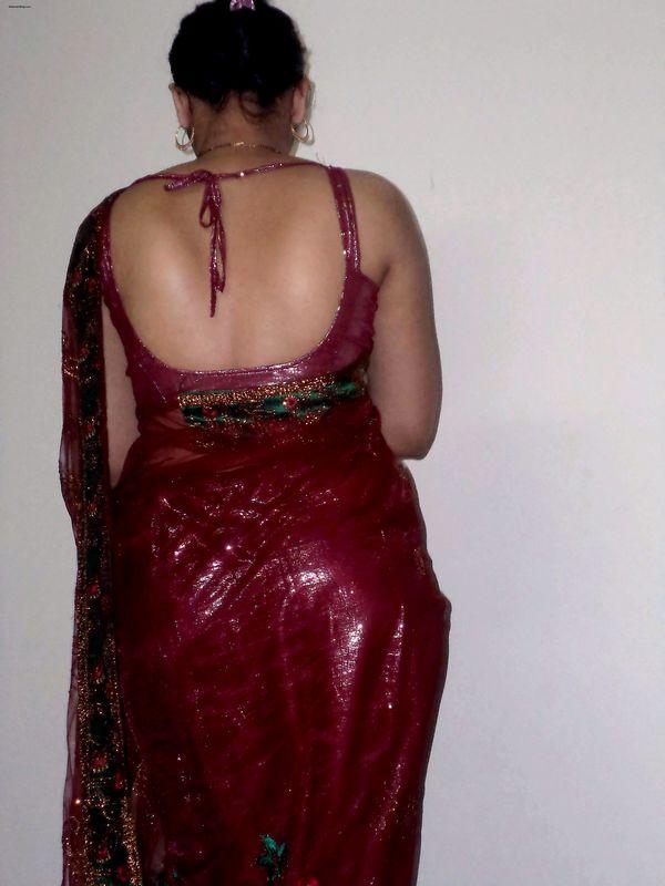 South Indian Aunty Saree