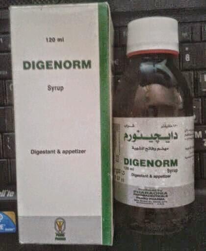 دايجينورم شراب مهضم وفاتح للشهية