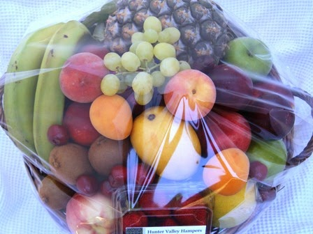 How do I order a Fruit Hamper in Sydney?