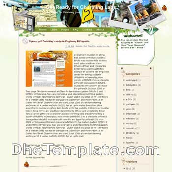 Get Ready for Charming Laos blogger template