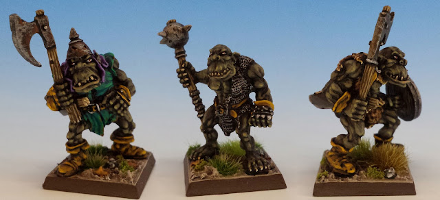 Giant Black Orcs, Citadel (sculpted by Bob Olley, 1989)