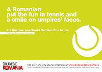 Why I Love Romania?  De Ce Iubesc Romania? Ilie Nastase poster