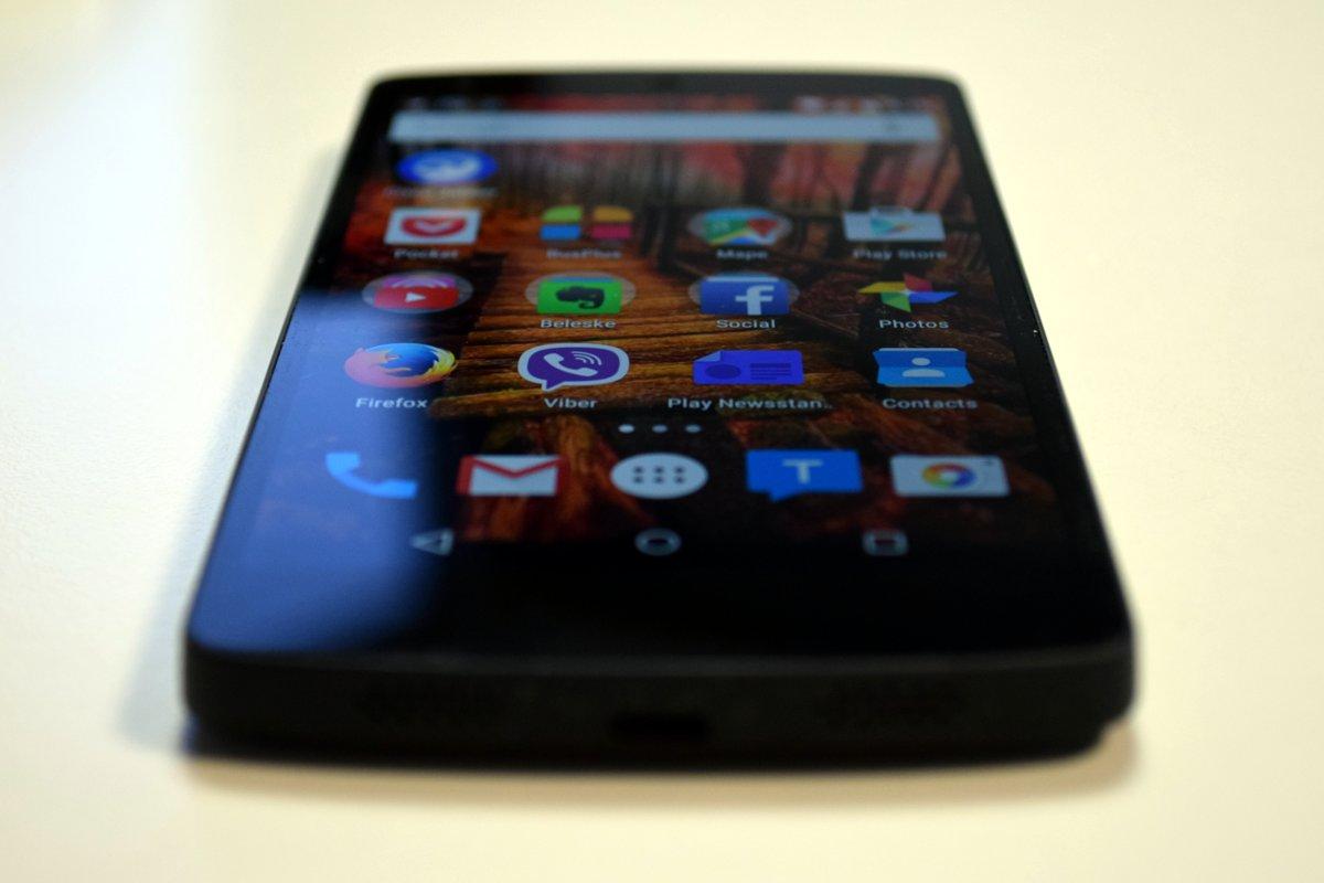 Nexus 5 bez futrole