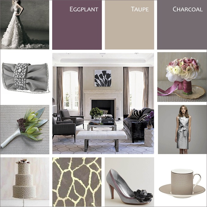 Grey and Taupe Color Scheme 678 x 678