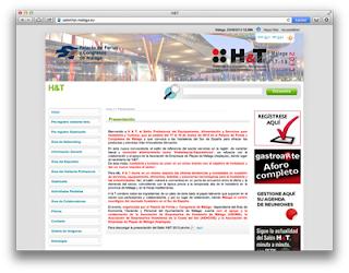 Web del salón profesional H&T
