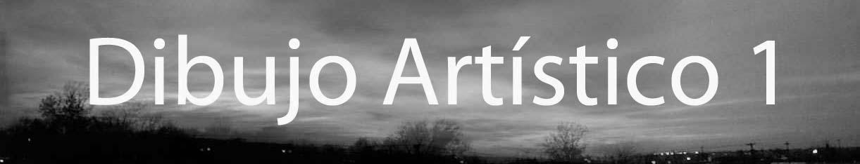 DIBUJO ARTÍSTICO I