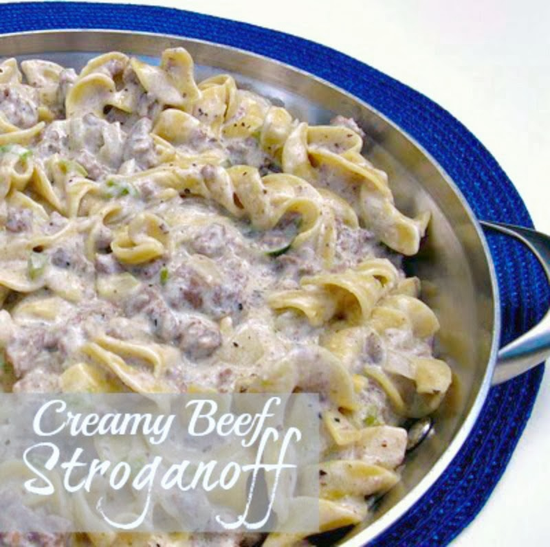 My Creamy Beef Stroganoff recipe is my Mother's creation, consistently ...