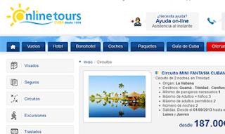 viajes a Cuba con onlinetours