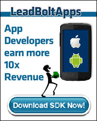 Earn money from your free apps