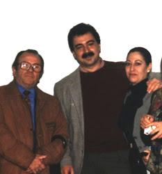 MANOLO CABRERA, ANTONIO REQUENA Y CARMEN AGUIRRE
