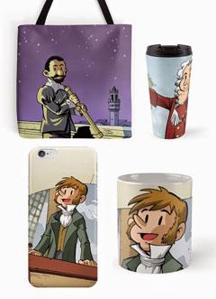 Productos basados en nuestros cómics: