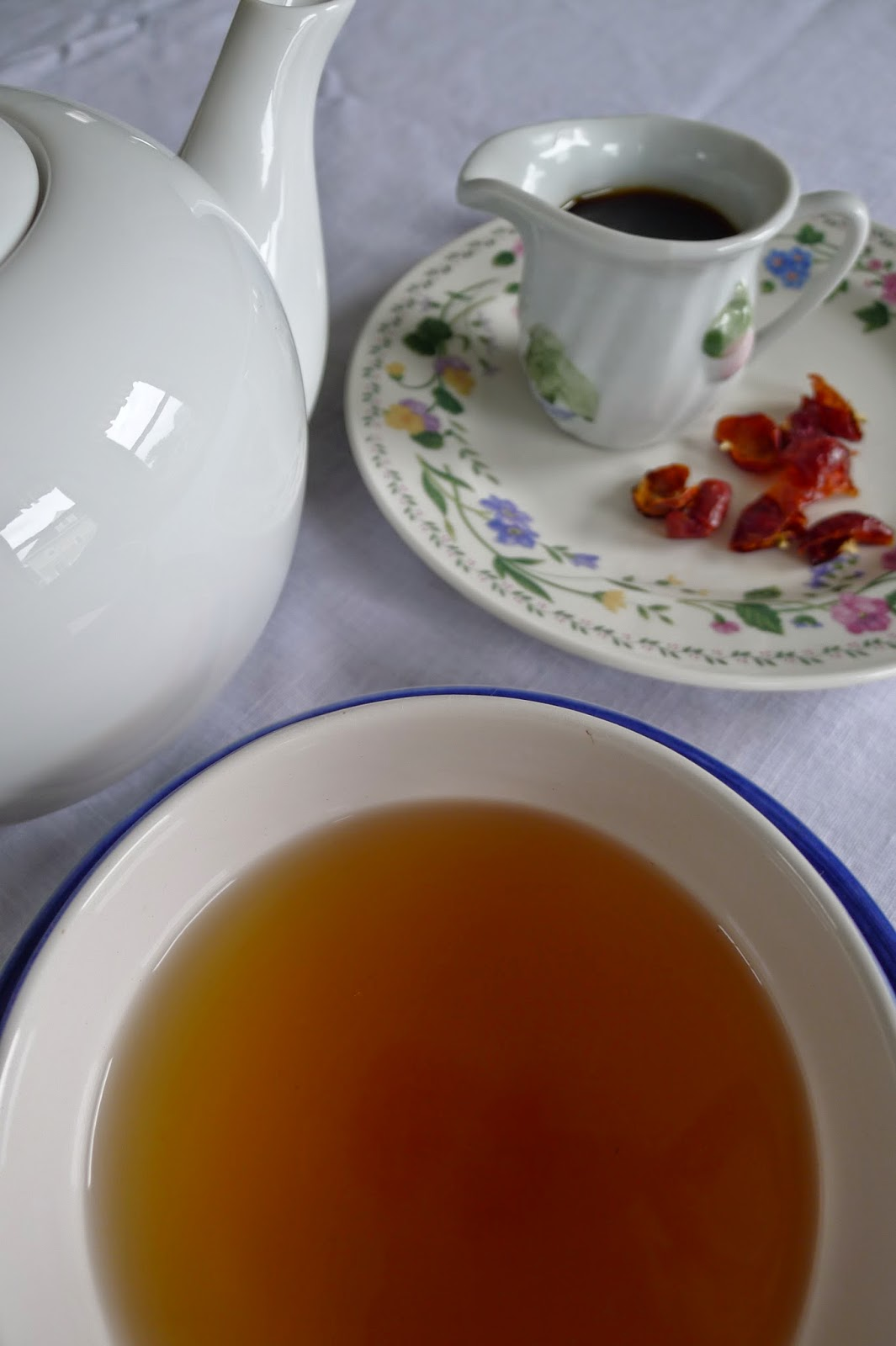 Rose Hip Tea and Syrup, Rose Hip Recipes