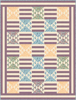 Downton Abbey Edith's Grand Entrance Quilt Design