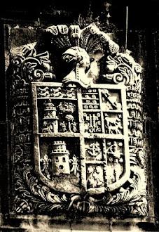 Escudo Palacio de Inclán, en Inclán