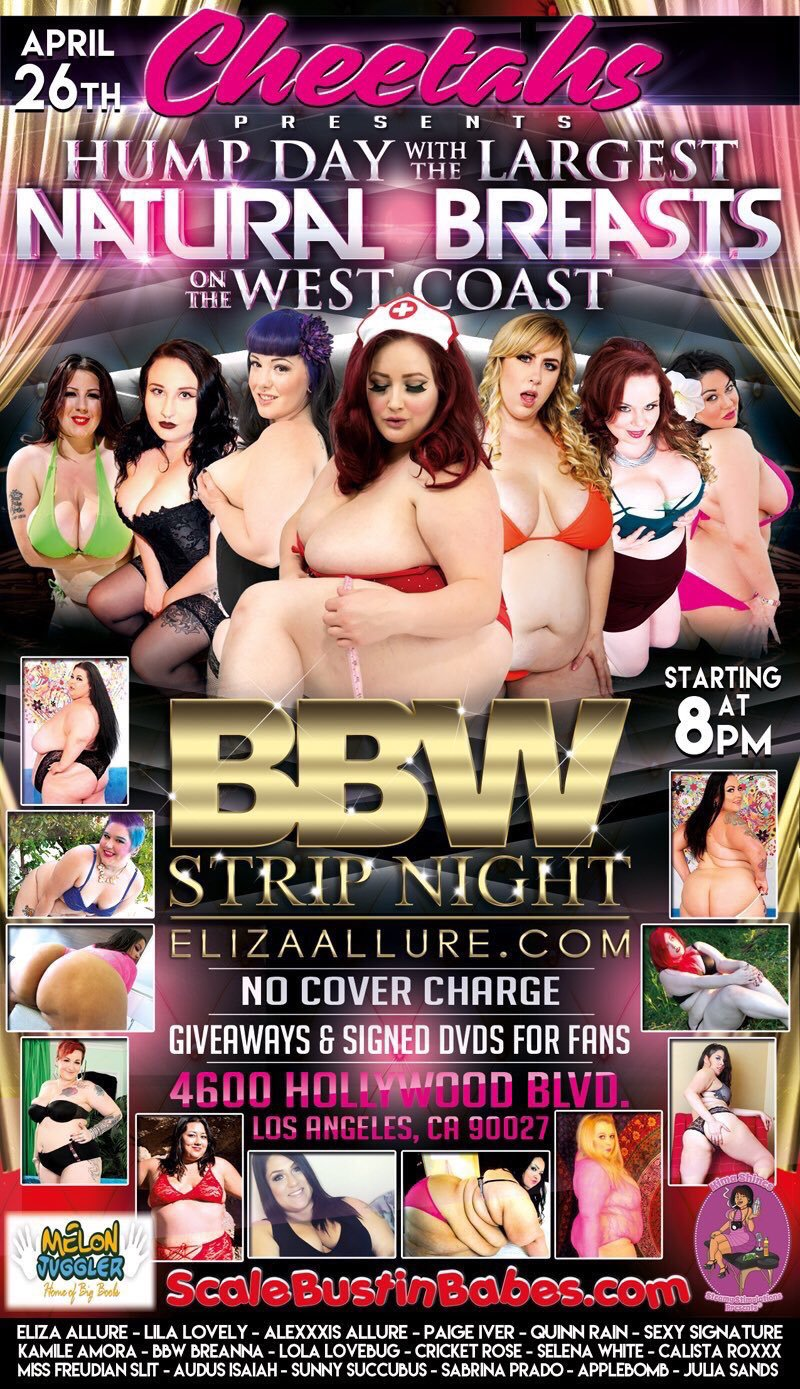 BBW Strip Night: April 26th, 2017