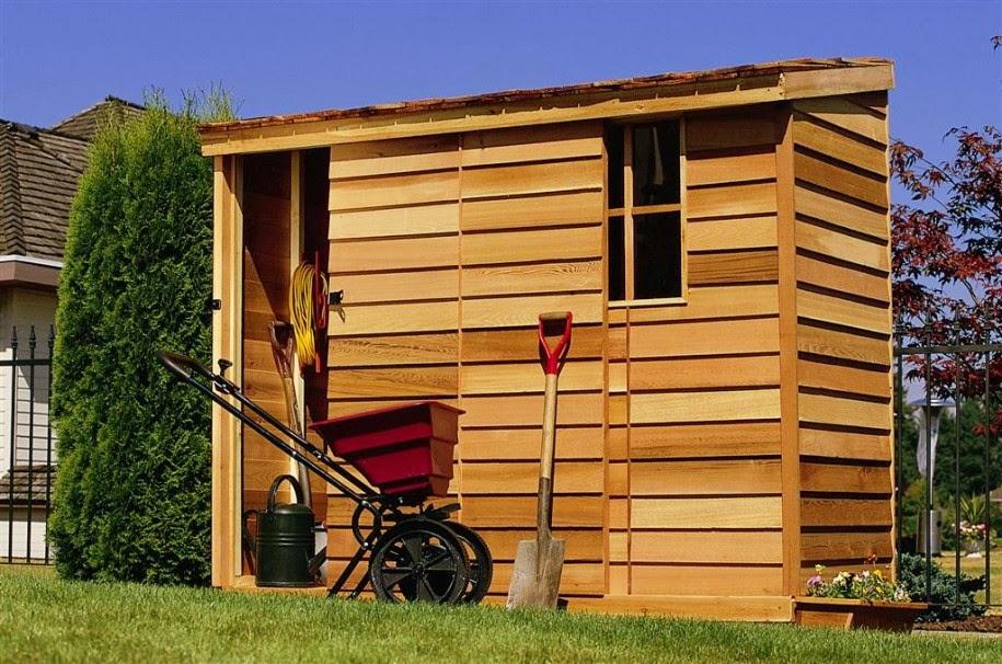Wood Storage Buildings Plans