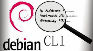 Konfigurasi IP Address Linux Debian CLI